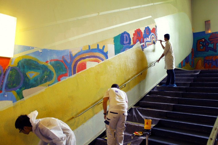 Schulworkshop Malerei